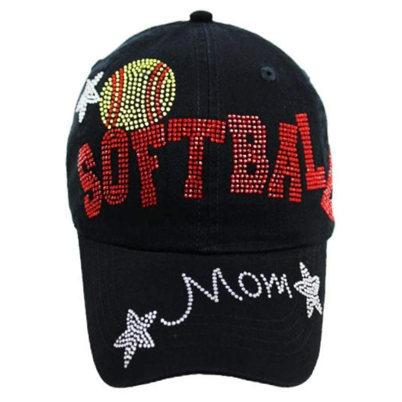 Wicked Wonders VIP Bling Hat Softball Mom Star Design BLING Hat Affordable Bling_Bling Fashion Paparazzi