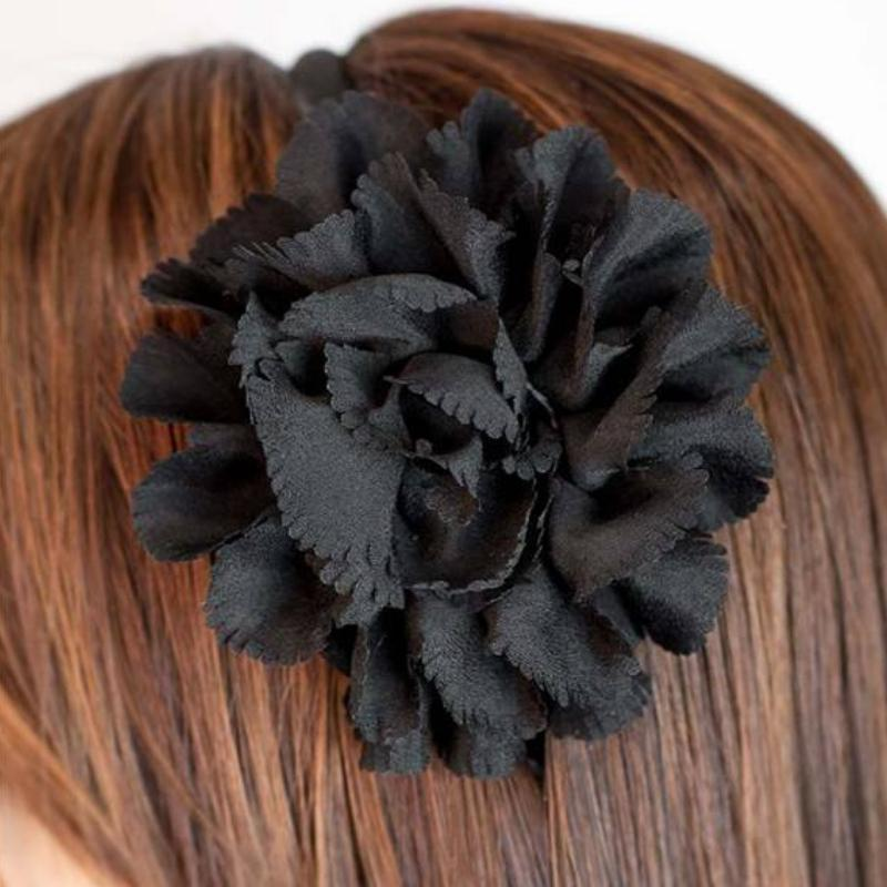 Wicked Wonders VIP Bling Headband Fringe With Benefits Black Headband Affordable Bling_Bling Fashion Paparazzi