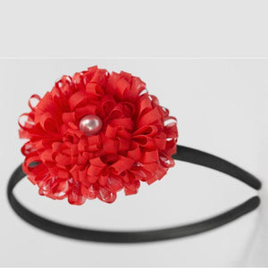 Wicked Wonders VIP Bling Headband Give Us a Cheer Red Headband Affordable Bling_Bling Fashion Paparazzi