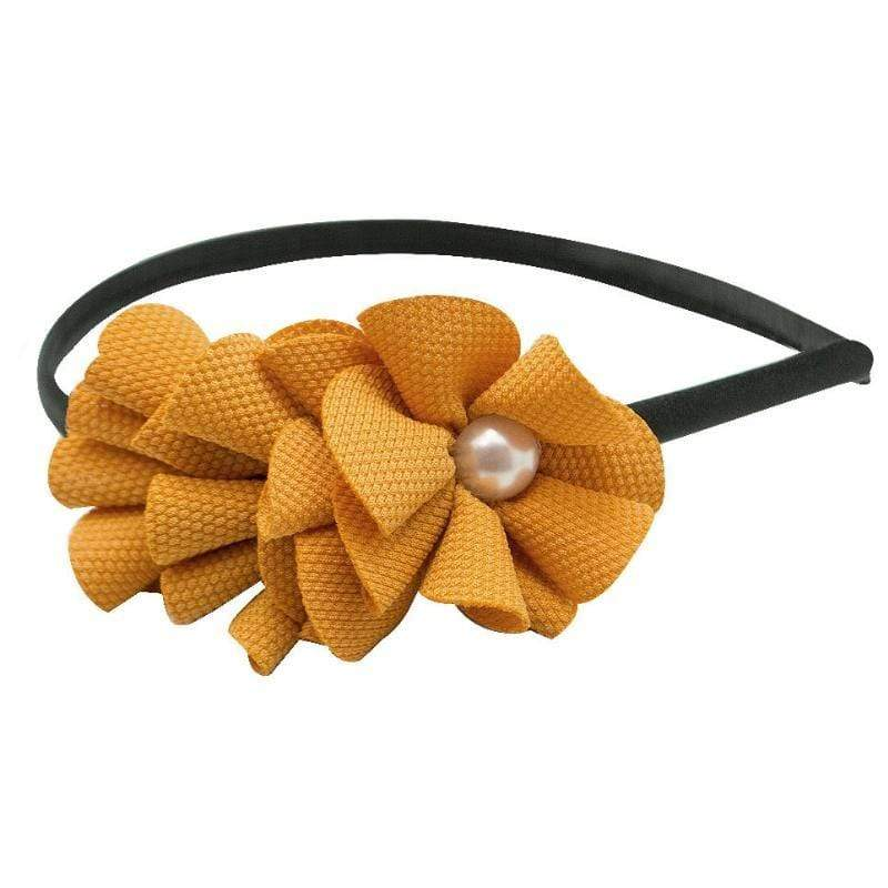 Wicked Wonders VIP Bling Headband Go, Fight, Win Yellow Headband Affordable Bling_Bling Fashion Paparazzi