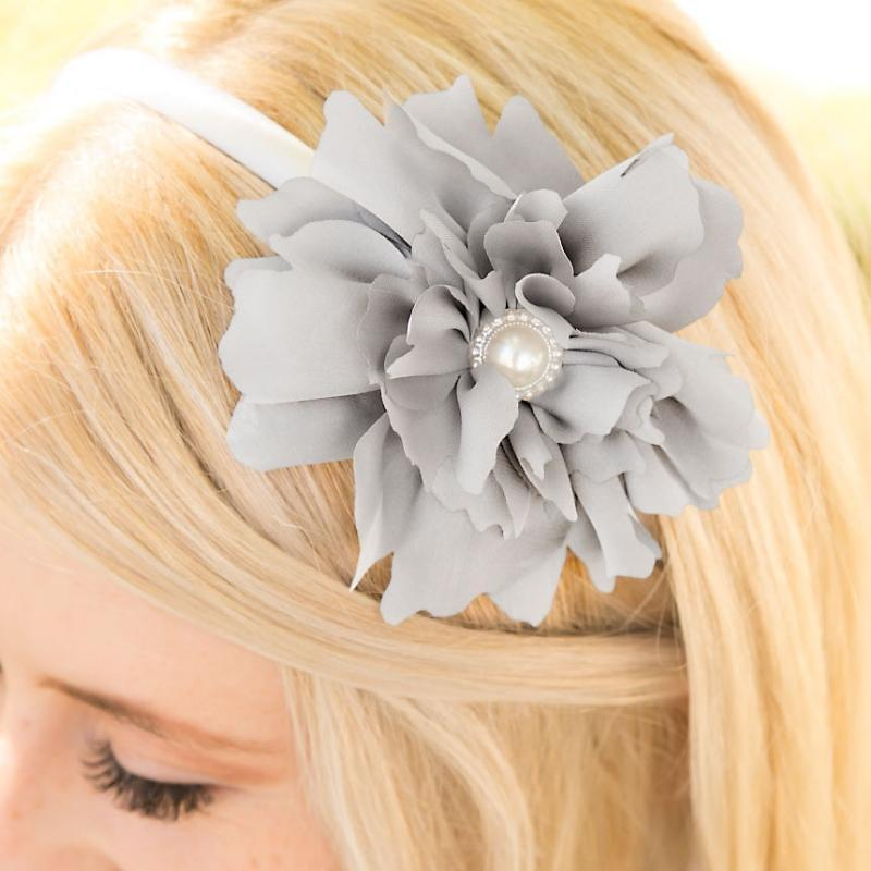 Wicked Wonders VIP Bling Headband Gone With the Wind Silver Headband Affordable Bling_Bling Fashion Paparazzi