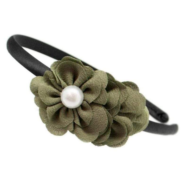 Wicked Wonders VIP Bling Headband I Do Declare Green Headband Affordable Bling_Bling Fashion Paparazzi