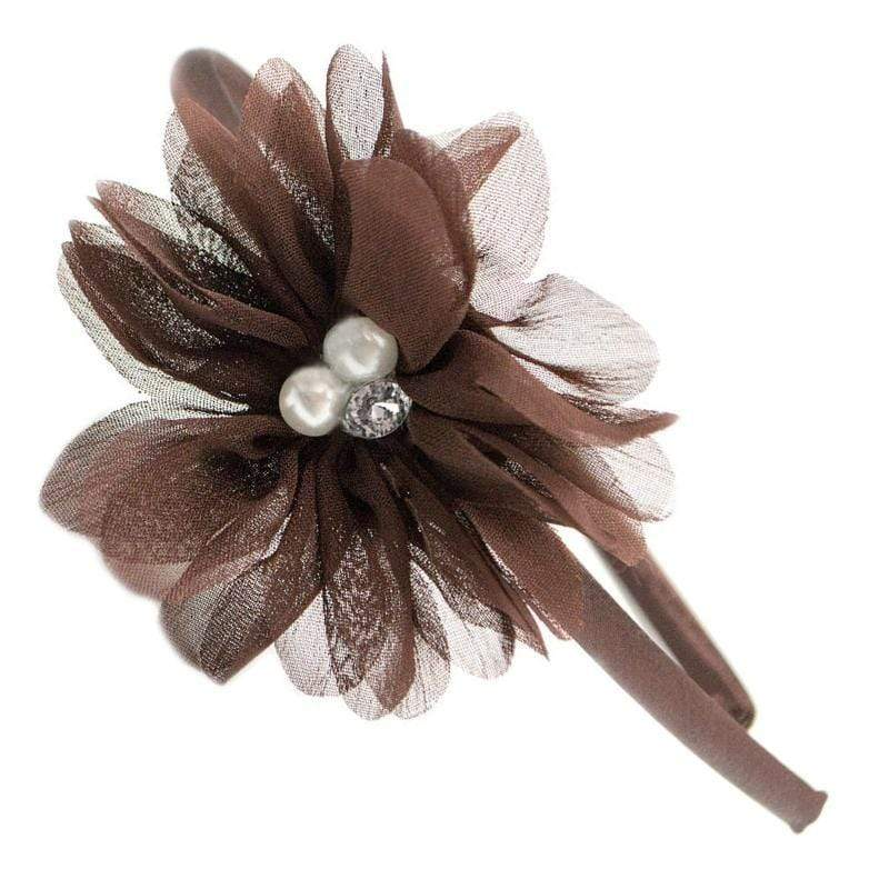 Wicked Wonders VIP Bling Headband Live A Little Brown Headband Affordable Bling_Bling Fashion Paparazzi