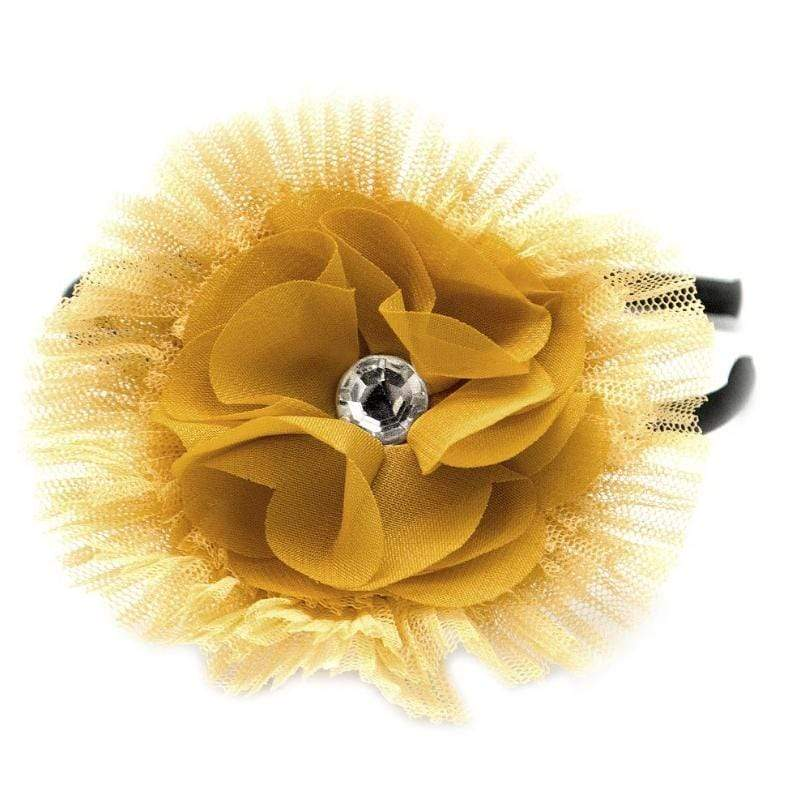 Wicked Wonders VIP Bling Headband Paradise Awaits You Yellow Headband Affordable Bling_Bling Fashion Paparazzi