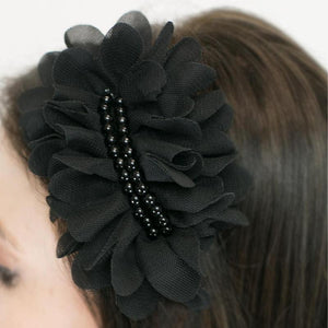 Wicked Wonders VIP Bling Headband Partygoer Black Headband Affordable Bling_Bling Fashion Paparazzi