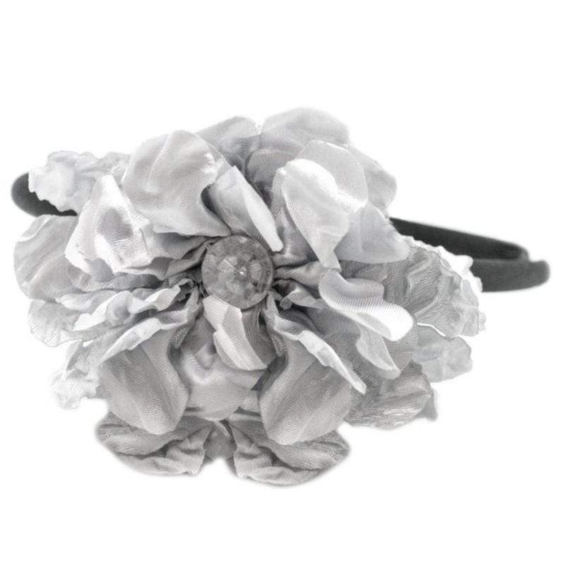 Wicked Wonders VIP Bling Headband Radiant Rustling Silver Headband Affordable Bling_Bling Fashion Paparazzi
