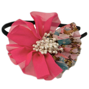 Wicked Wonders VIP Bling Headband Secret Garden Pink Headband Affordable Bling_Bling Fashion Paparazzi