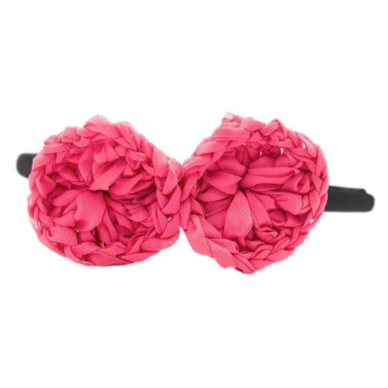 Wicked Wonders VIP Bling Headband Spun Out Pink Headband Affordable Bling_Bling Fashion Paparazzi