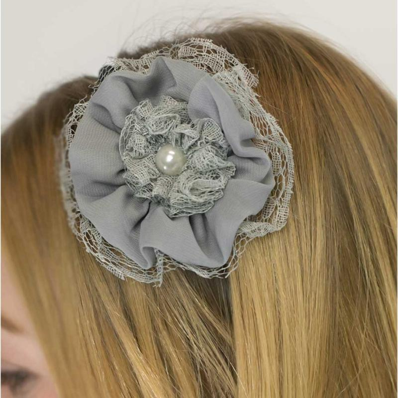 Wicked Wonders VIP Bling Headband Sweet Talk Gray Headband Affordable Bling_Bling Fashion Paparazzi