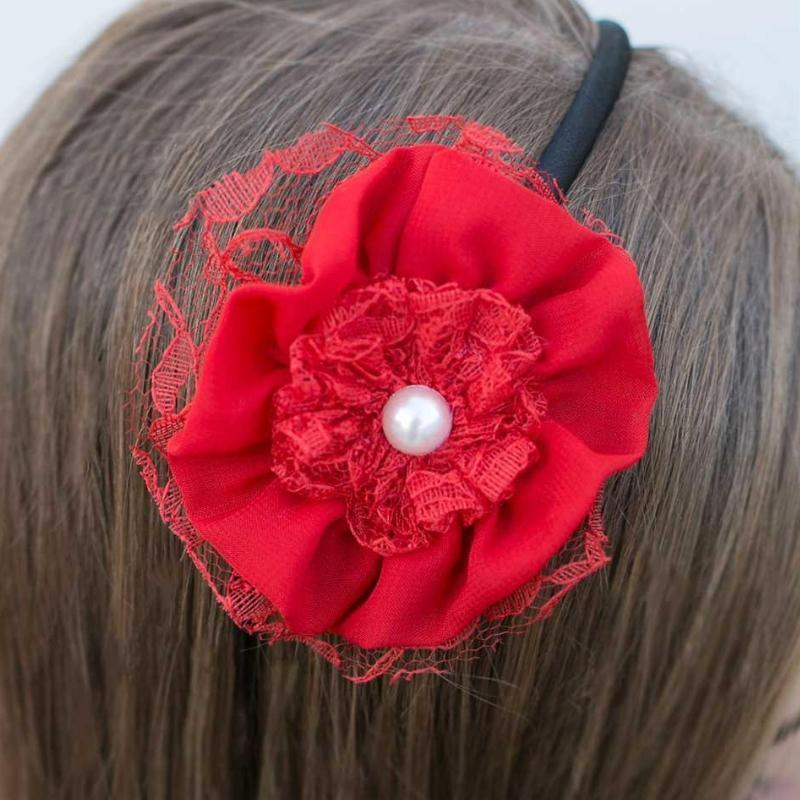 Wicked Wonders VIP Bling Headband Sweet Talk Red Headband Affordable Bling_Bling Fashion Paparazzi