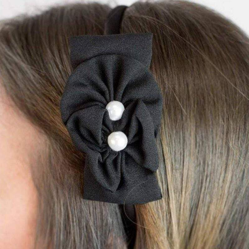 Wicked Wonders VIP Bling Headband Two Peas in a Pod Black Headband Affordable Bling_Bling Fashion Paparazzi