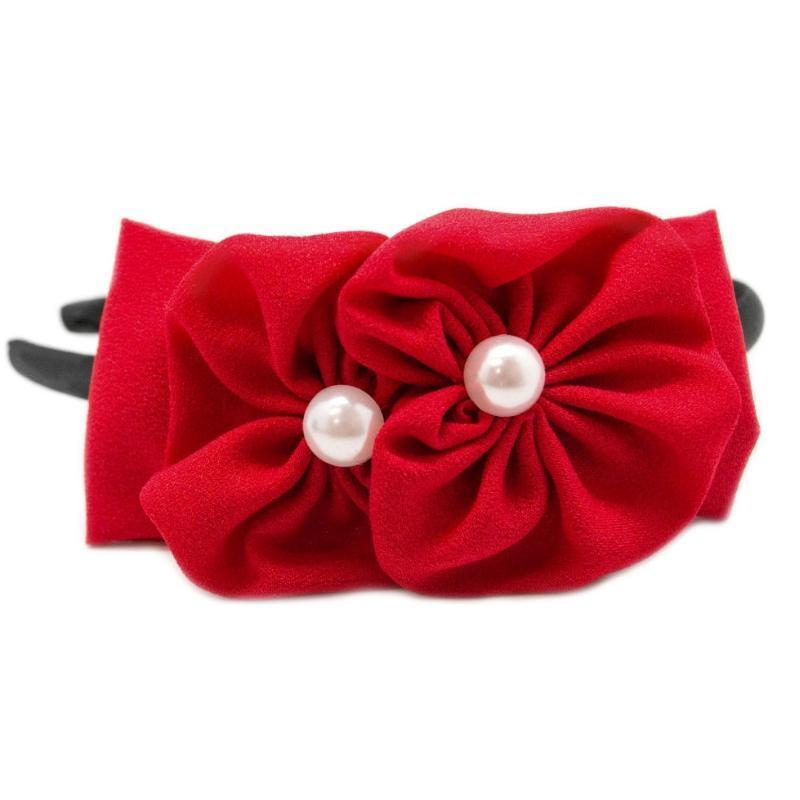 Wicked Wonders VIP Bling Headband Two Peas in a Pod Red Headband Affordable Bling_Bling Fashion Paparazzi