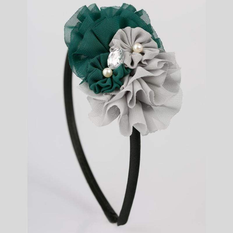 Wicked Wonders VIP Bling Headband Worlds Collide Green Headband Affordable Bling_Bling Fashion Paparazzi