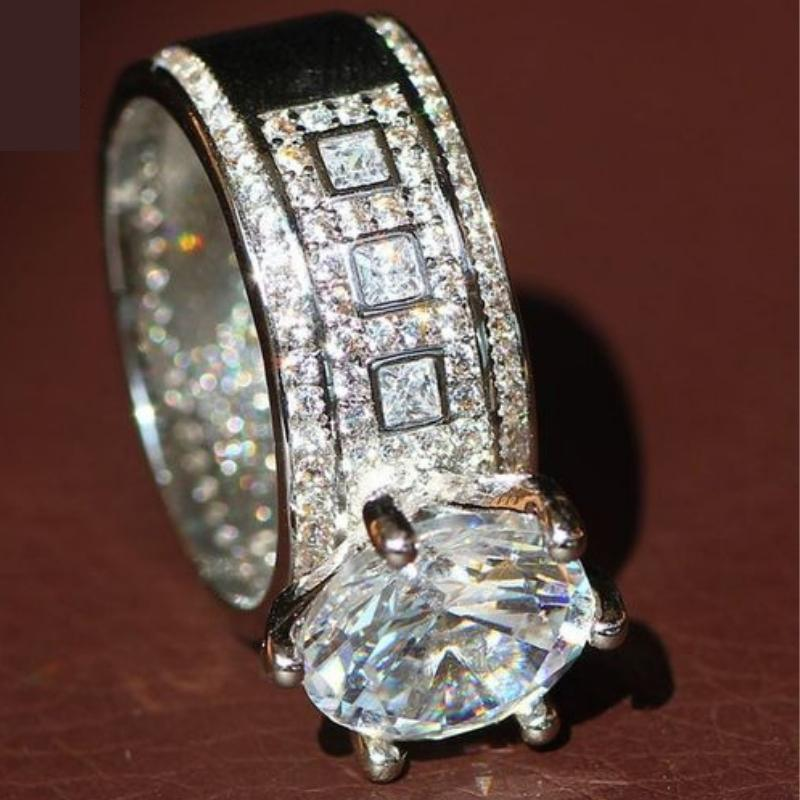 Wicked Wonders VIP Bling Iced Out 4.6 Carat AAA Zircon Ring Affordable Bling_Bling Fashion Paparazzi