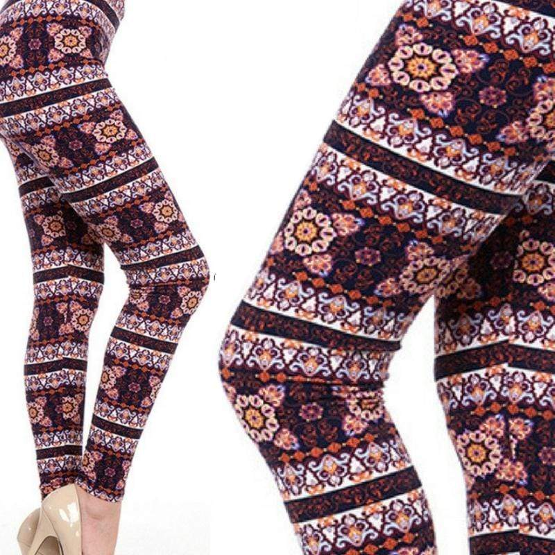 Wicked Wonders VIP Bling Leggings Wicked Soft Burn it to the Ground OS Leggings Affordable Bling_Bling Fashion Paparazzi