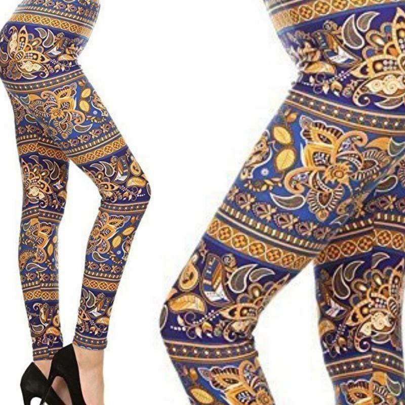 Wicked Wonders VIP Bling Leggings Wicked Soft Crown Jewels PLUS Leggings Affordable Bling_Bling Fashion Paparazzi