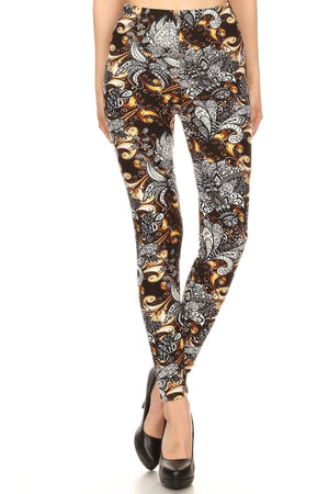 Wicked Wonders VIP Bling Leggings Wicked Soft France On Fire OS Leggings Affordable Bling_Bling Fashion Paparazzi