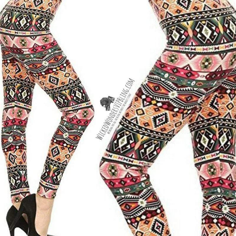Wicked Wonders VIP Bling Leggings Wicked Soft Living in Color PLUS Leggings Affordable Bling_Bling Fashion Paparazzi