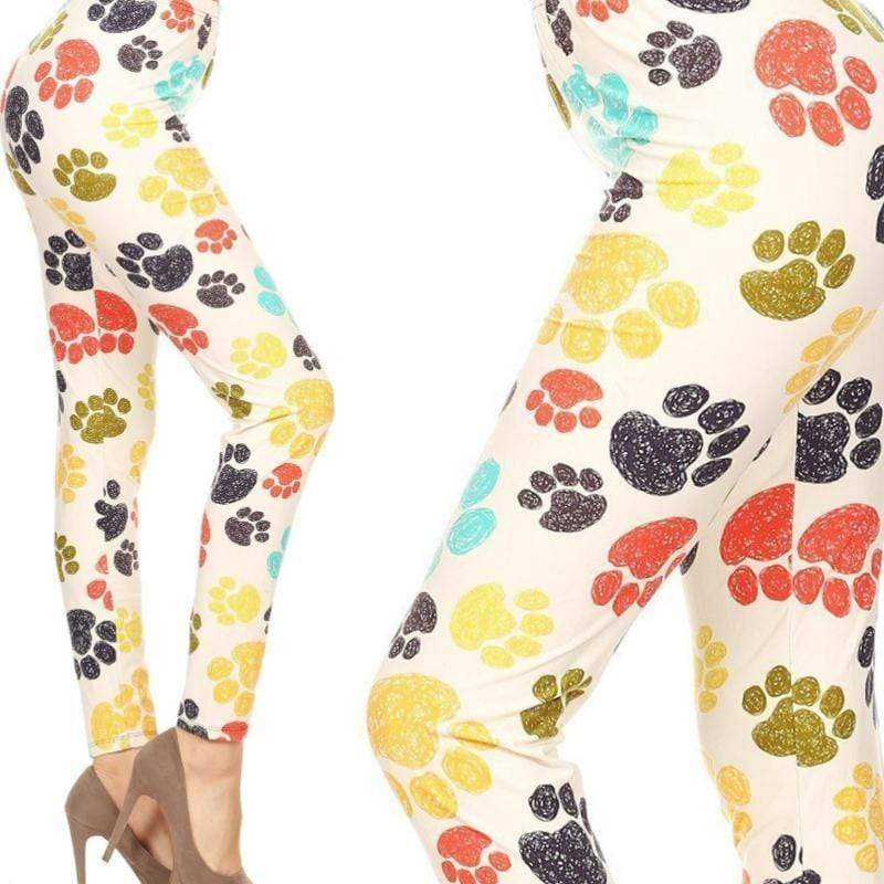 Wicked Wonders VIP Bling Leggings Wicked Soft Paws in the Park OS Leggings Affordable Bling_Bling Fashion Paparazzi