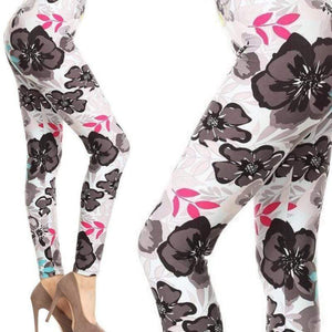 Wicked Wonders VIP Bling Leggings Wicked Soft Sing a Song of Flowers OS Leggings Affordable Bling_Bling Fashion Paparazzi