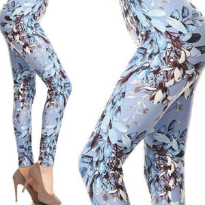 Wicked Wonders VIP Bling Leggings Wicked Soft Zenful Blues OS Leggings Affordable Bling_Bling Fashion Paparazzi