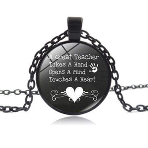 Wicked Wonders VIP Bling Necklace A Great Teacher Black Necklace Affordable Bling_Bling Fashion Paparazzi