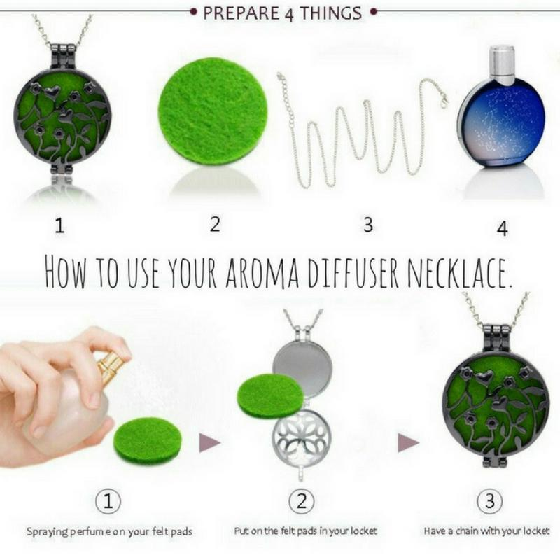 Wicked Wonders VIP Bling Necklace Baby Love Aroma Diffuser Necklace Affordable Bling_Bling Fashion Paparazzi