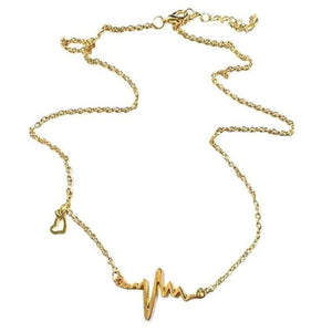 Wicked Wonders VIP Bling Necklace Be Still My Beating Heart Dainty Silver or Gold Necklace Affordable Bling_Bling Fashion Paparazzi