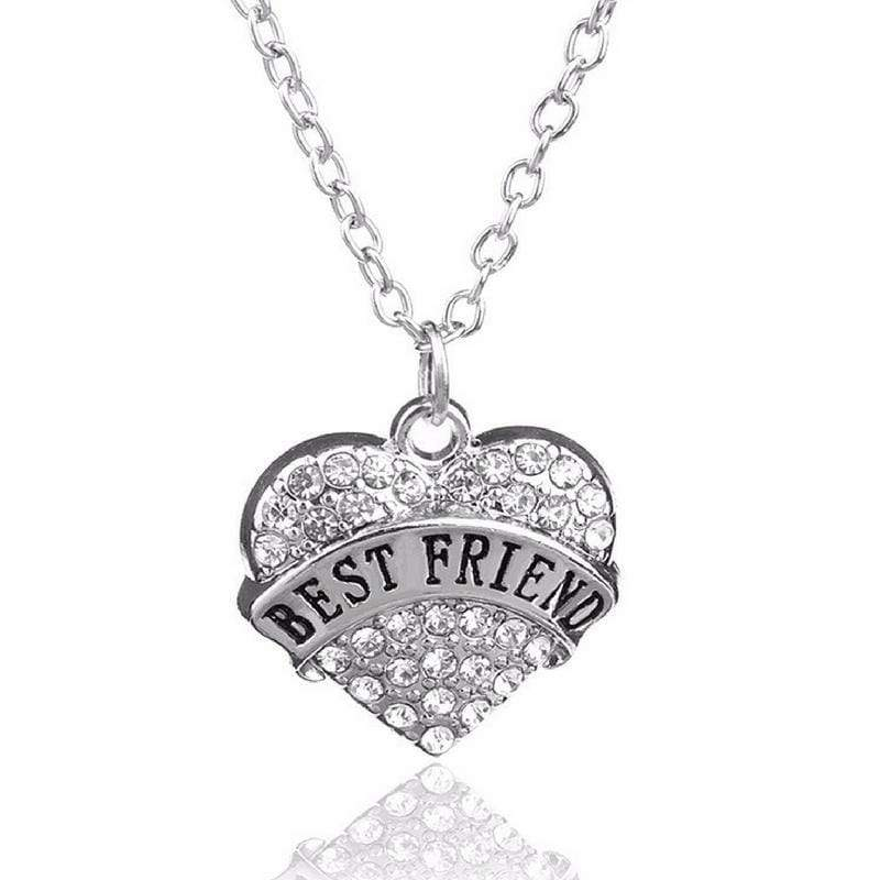 Wicked Wonders VIP Bling Necklace BFF's Forever White Rhinestone Necklace Affordable Bling_Bling Fashion Paparazzi