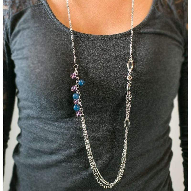 Wicked Wonders VIP Bling Necklace Don't Waste Your Time Multi-Color Necklace Affordable Bling_Bling Fashion Paparazzi