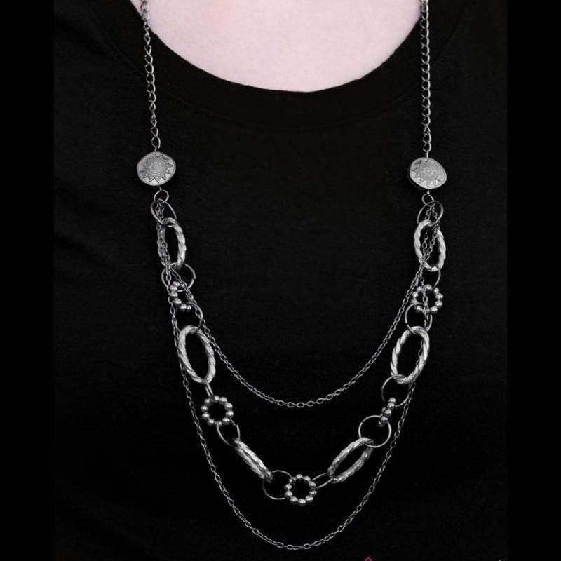 Wicked Wonders VIP Bling Necklace Everything Under the Sun Black Necklace Affordable Bling_Bling Fashion Paparazzi