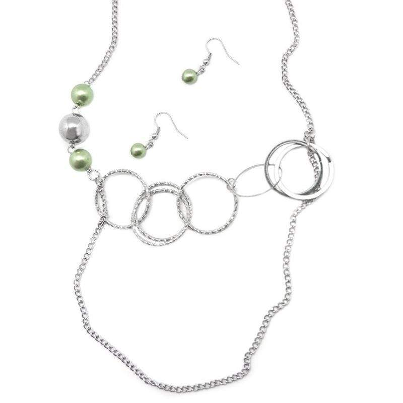 Wicked Wonders VIP Bling Necklace Expressionist Green Necklace Affordable Bling_Bling Fashion Paparazzi