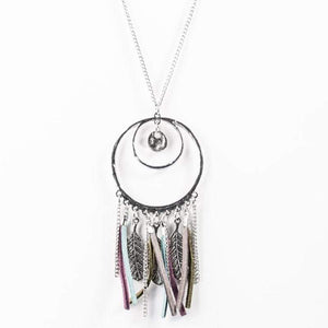 Wicked Wonders VIP Bling Necklace Fearless Dreamer Multi-Color Necklace Affordable Bling_Bling Fashion Paparazzi