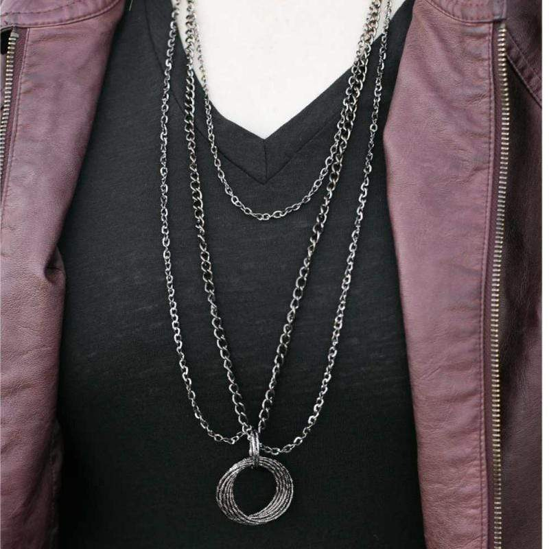 Wicked Wonders VIP Bling Necklace Hallelujah Black Necklace Affordable Bling_Bling Fashion Paparazzi