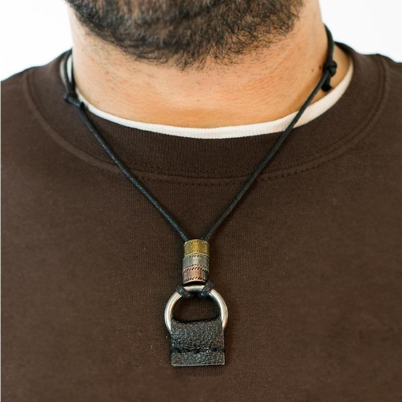 Wicked Wonders VIP Bling Necklace Hell Bent for Leather Urban Man Necklace Affordable Bling_Bling Fashion Paparazzi