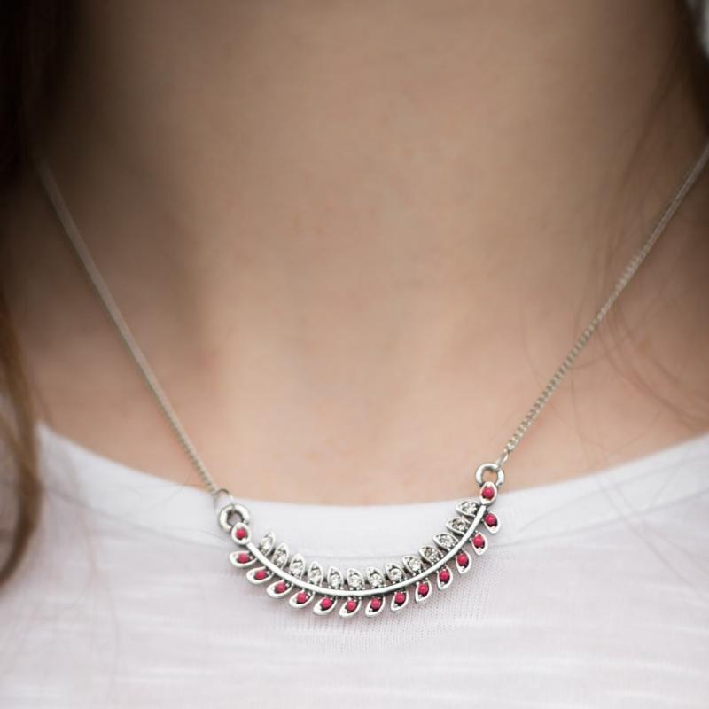 Wicked Wonders VIP Bling Necklace I'm Glistening Pink Necklace Affordable Bling_Bling Fashion Paparazzi