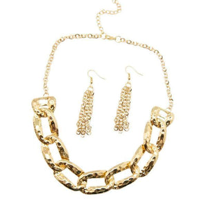 Wicked Wonders VIP Bling Necklace La Vida Loca Gold Necklace Affordable Bling_Bling Fashion Paparazzi