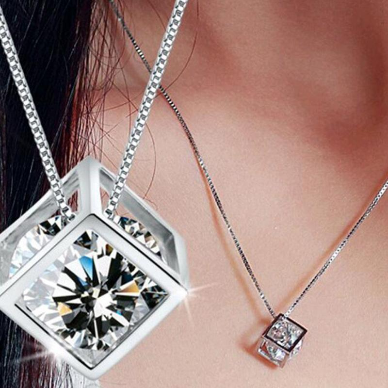 Wicked Wonders VIP Bling Necklace Man in the Box White Gem Necklace Affordable Bling_Bling Fashion Paparazzi