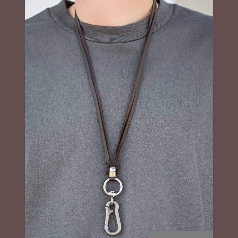 Wicked Wonders VIP Bling Necklace Man Oh Man Brown Urban Manyard Necklace Affordable Bling_Bling Fashion Paparazzi