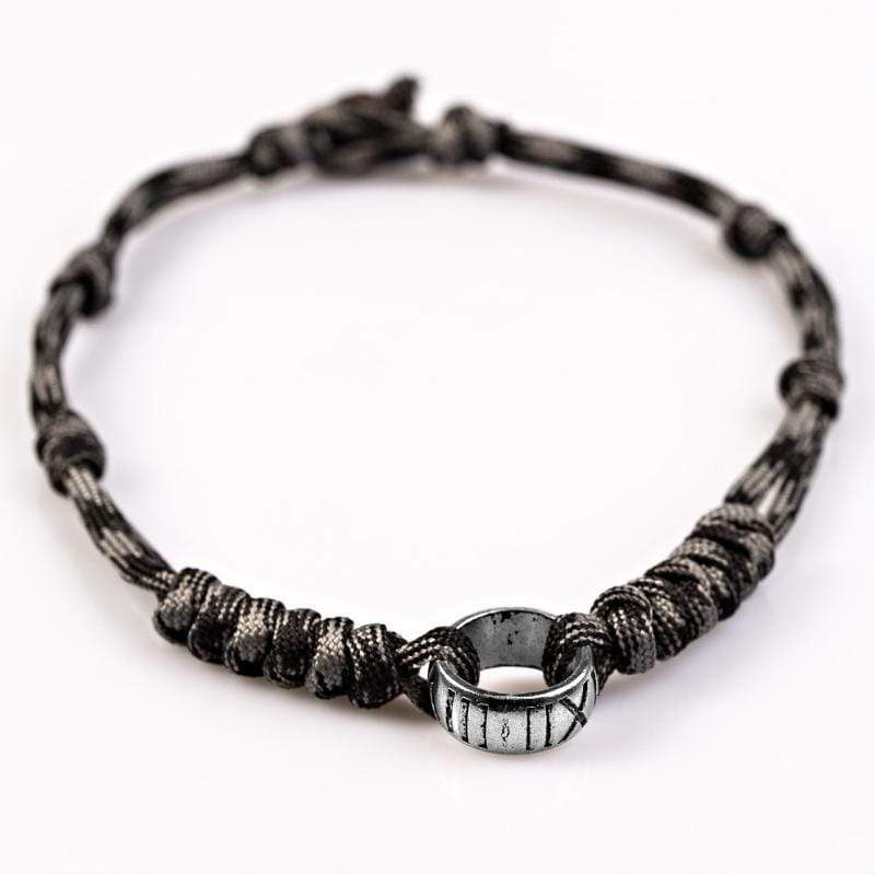 Wicked Wonders VIP Bling Necklace Mighty Mountaineer Black Urban Man Necklace Affordable Bling_Bling Fashion Paparazzi