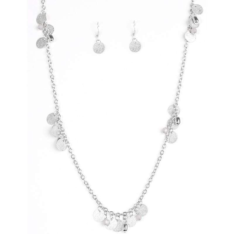 Wicked Wonders VIP Bling Necklace Musical Expression Silver Necklace Affordable Bling_Bling Fashion Paparazzi