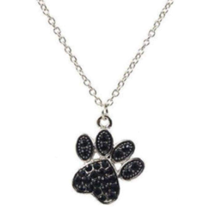 Wicked Wonders VIP Bling Necklace PAWFect Black Rhinestone Necklace Affordable Bling_Bling Fashion Paparazzi