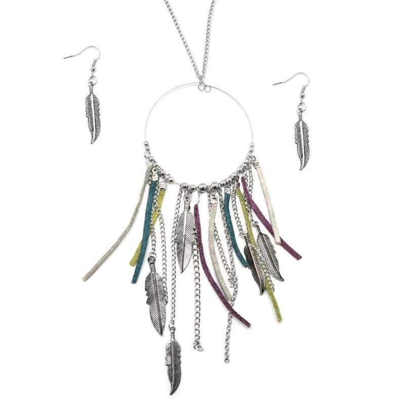 Wicked Wonders VIP Bling Necklace See You in My Dreams Multi-Colored Necklace Affordable Bling_Bling Fashion Paparazzi