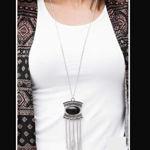 Wicked Wonders VIP Bling Necklace The Empress Black Necklace Affordable Bling_Bling Fashion Paparazzi