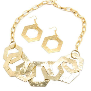 Wicked Wonders VIP Bling Necklace The HEX Factor Gold Necklace Affordable Bling_Bling Fashion Paparazzi