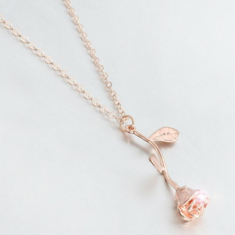Wicked Wonders VIP Bling Necklace The Rose Dainty Necklace - 3 Colors Available Affordable Bling_Bling Fashion Paparazzi