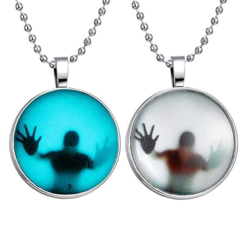 Wicked Wonders VIP Bling Necklace Trapped Under Ice Glow-in-the-Dark Necklace Affordable Bling_Bling Fashion Paparazzi