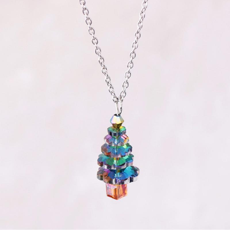 Wicked Wonders VIP Bling Necklace Tree Towne Multi Color Necklace Affordable Bling_Bling Fashion Paparazzi