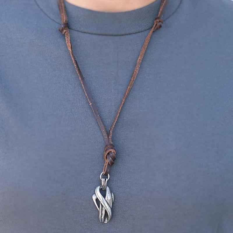 Wicked Wonders VIP Bling Necklace Urbanite Brown Urban Man Necklace Affordable Bling_Bling Fashion Paparazzi