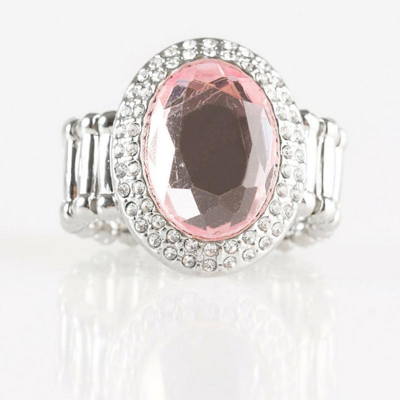 Wicked Wonders VIP Bling Ring A Fair CACHE Pink Gem Ring Affordable Bling_Bling Fashion Paparazzi